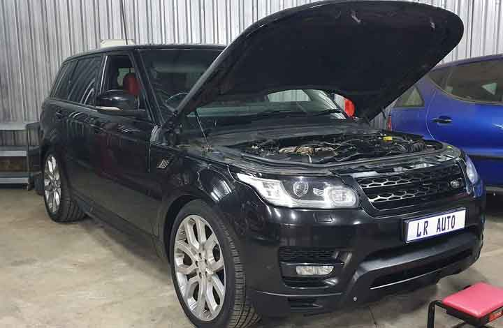 Range Rover 5L Supercharger Timing chain kit replacement
